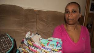 Nakiya Wakes bought baby clothes and supplies before suffering a miscarriage.