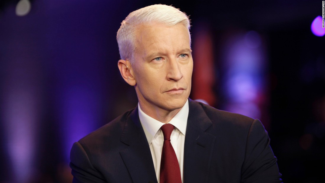 """CNN's own Anderson Cooper, 48, started going gray at age 20. """"You can, of course, dye,"""" <a href=""""http://www.cnn.com/2005/US/08/16/going.gray/index.html?iref=newssearch"""">he wrote in 2005</a>. """"Plenty of guys do, but if you ask me, you might as well advertise your desperation."""""""