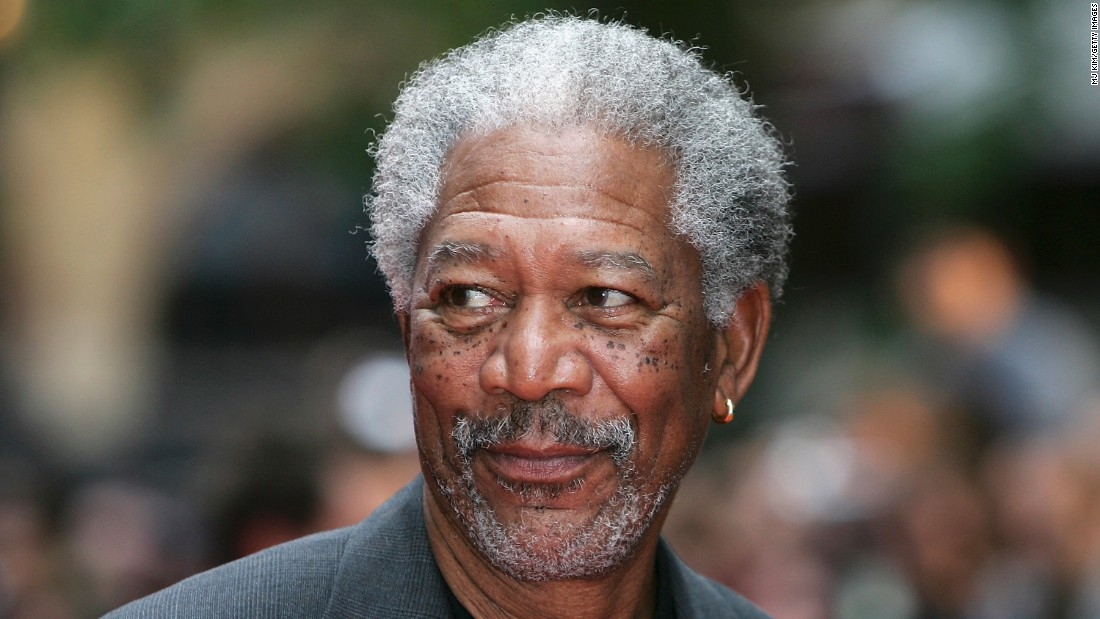 """Some might say Morgan Freeman's gray hair matches his famous voice. When Jimmy Fallon took the helm of """"The Tonight Show,"""" 78-year-old Freeman famously <a href=""""https://twitter.com/fallontonight/status/492717316472594432"""" target=""""_blank"""">warned </a> that he had """"watched three or four people in this job go gray."""""""