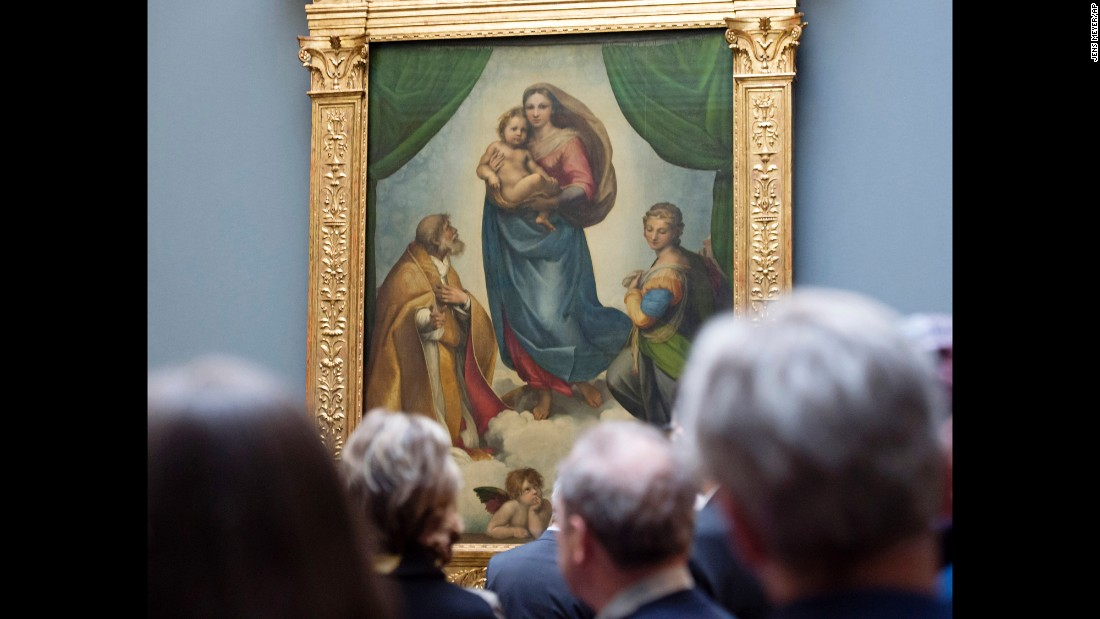 "Dresden's <a href=""http://www.skd.museum/en/"" target=""_blank"">Gemaldegalerie Alte Meister</a> (Old Masters Picture Gallery) reopened at the end of February. It's part of Staatliche Kunstsammlungen Dresden (Dresden State Art Collections) and features works including Correggio's ""Holy Night,"" Cranach's ""St. Catherine Altar"" and Raphael's ""The Sistine Madonna"" (pictured)."