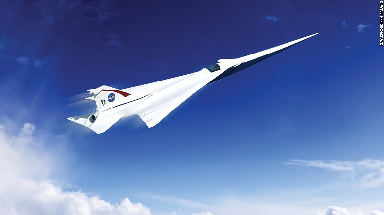 NASA says it will build quiet supersonic passenger jet