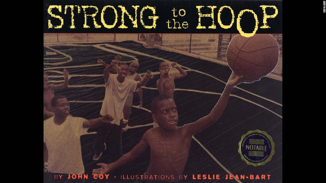 "When 10-year-old James is finally allowed on the basketball court to play with the older boys in a shirts versus skins game, he stumbles at first but soon gets into a rhythm and shows his fierce determination and skill in this tale by John Coy. ""Strong to the Hoop"" is filled with the language of basketball and Leslie Jean-Bart's photo collages to convey the story to young readers."