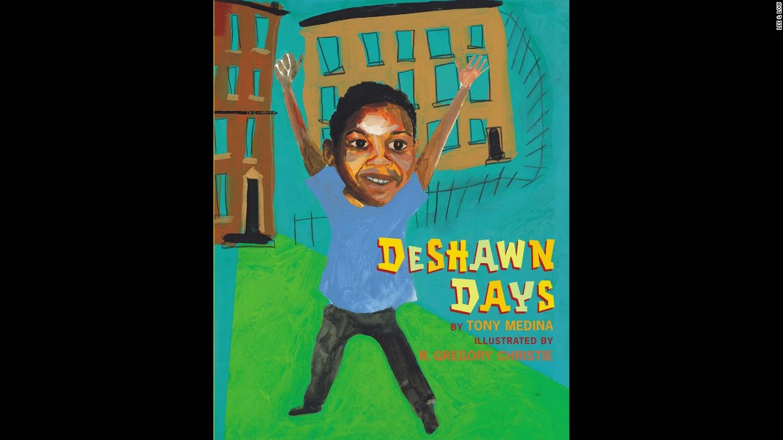 "Children who grow up in the projects will identify with ""DeShawn Days,"" a picture book by Tony Medina based on his own childhood. Deshawn's experiences are happy, sad and scary, all told in verse. I'm DeShawn Williams/I'm 10 years old/come see who I live with-/who I love!""<br />"