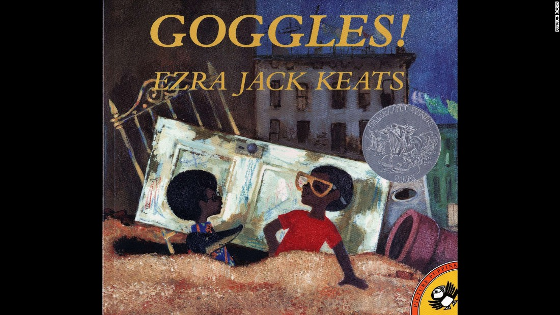 "Ezra Jack Keats may be best known for his groundbreaking Caldecott Medal-winning picture book, ""The Snowy Day, which was published in 1962 and showed a multicultural urban setting. Keats' stories are about Peter and his friends. In ""Goggles!""  Peter has found a pair of motorcycle goggles, but a neighborhood gang wants them, too. What will happen next?<br />"