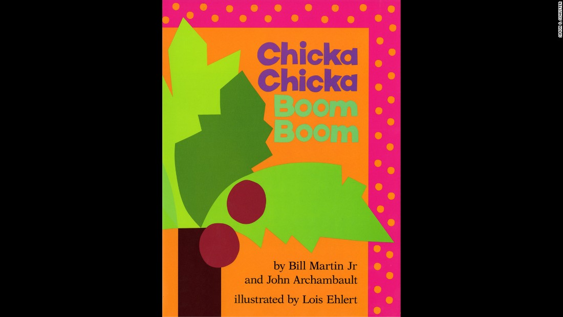 "As the letters of the alphabet race each other to the top of the coconut tree, the weight of all the letters weigh down the tree and they all fall down. Hence, ""Chicka Chicka BOOM! BOOM!"" This classic by Bill Martin Jr. and John Archambault, illustrated by Lois Ehlert, introduces the alphabet to a whole new generation of beginning readers."