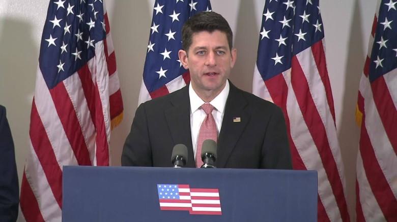 Paul Ryan calls out Donald Trump on KKK