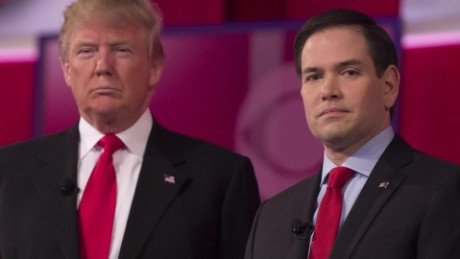 Trump Vs. Rubio: The rap battle