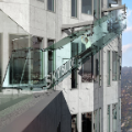 Skyslide glass slide LA