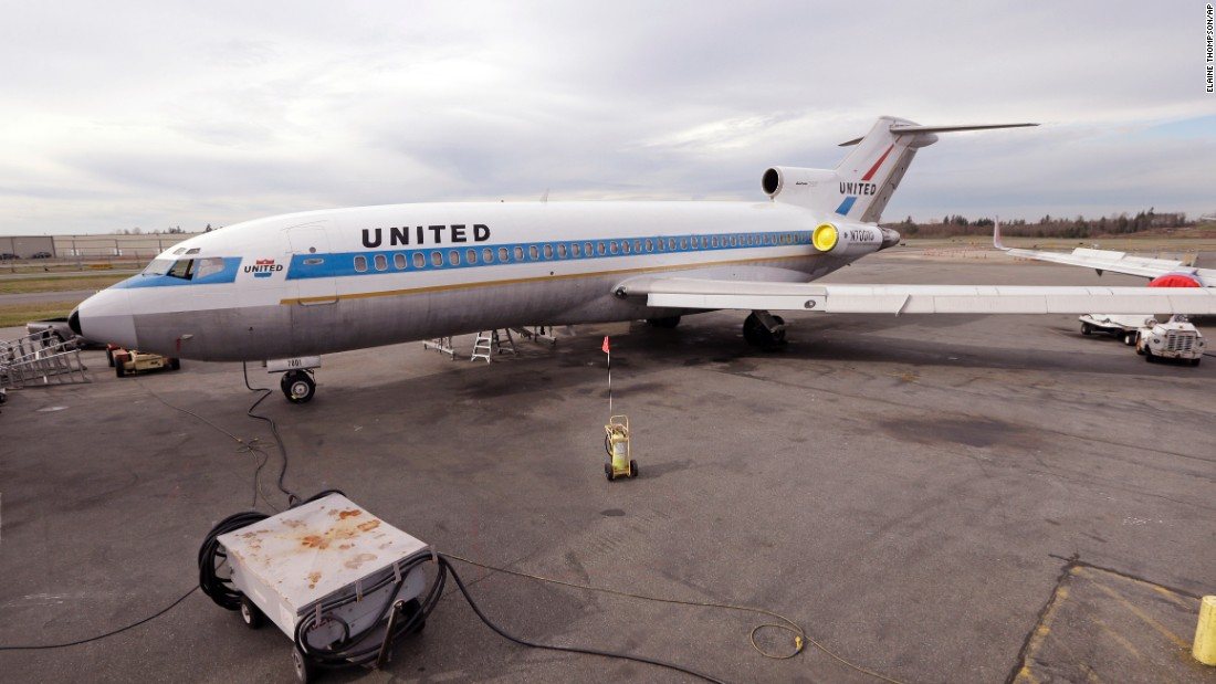 United Airlines was the launch customer for the first Boeing 727. This beauty was the first to come off the production line. Tail number N7001U flew a short hop to Boeing Field airport to be put on display at Seattle's Museum of Flight on Wednesday March 2, after a yearslong restoration project near Boeing's factory in Everett, Washington.