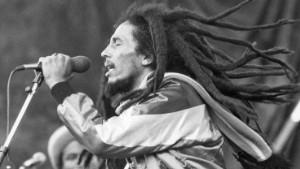 (GERMANY OUT) Bob Marley Bob Marley *06.04.1945-11.05.1981+ Musician, singer, Reggae, Jamaica Bob Marley at a concert - 1981 (Photo by Jürgen & Thomas/ullstein bild via Getty Images)
