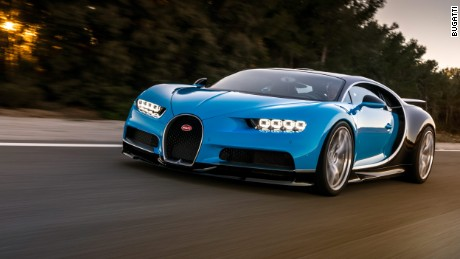 Bugatti Chiron - The iconic Bugatti Veyron is a tough act to follow, but the Chiron manages it. Only 500 Chirons will be produced and no-one can doubt its combination of performance, luxury and exclusivity.