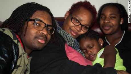 Dominique Absell and his family worry about their future in Flint.