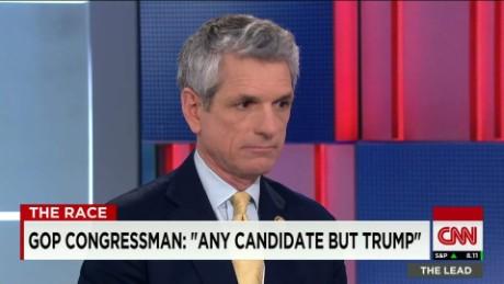 GOP Congressman: I won't vote for Trump in November