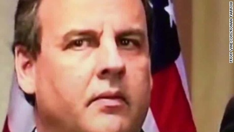How Chris Christie's hostage face stole the show