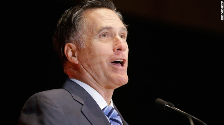 Mitt Romney makes anti-Trump robocalls