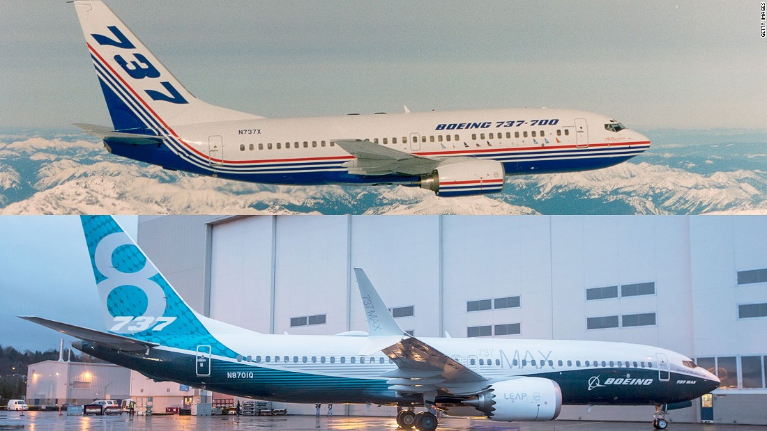 Many of today's designs wouldn't look out of place in the 1960s. Though packed with vastly improved technology, the new Boeing 737 MAX is similar in appearance to the 737-700 of 50 years ago.