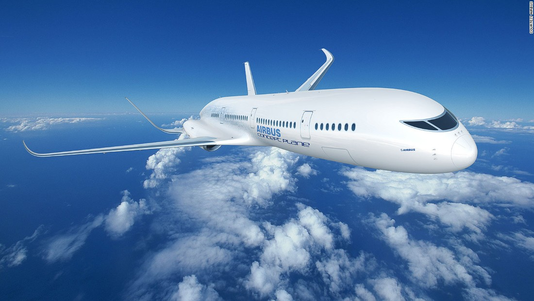 Airbus has created a depiction of what would be possible if all of the futuristic technologies envisaged by Airbus could be combined to create the ideal airliner.<br />