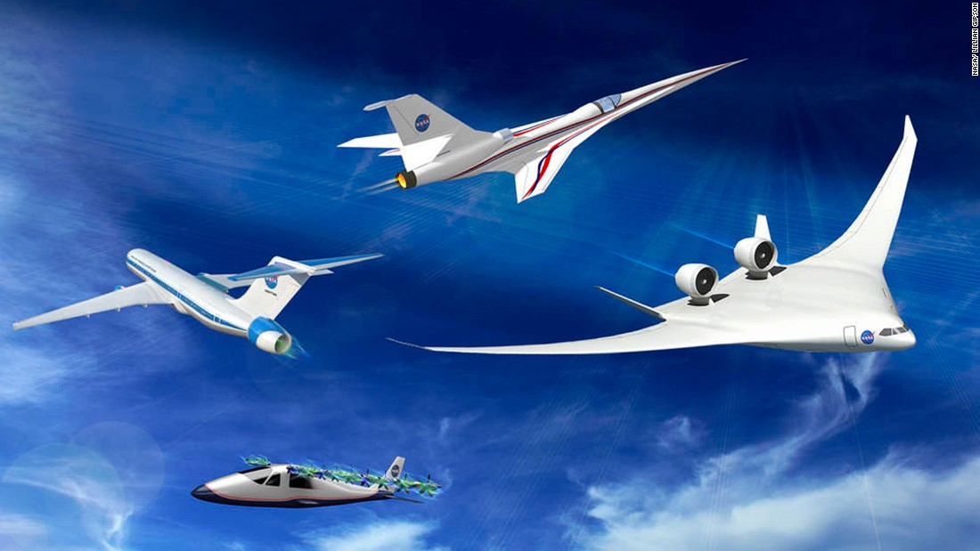 The race to build the aircraft of the future is on. Designs like these NASA concept planes developed with Boeing are on the drawing board, so when will they become a reality?