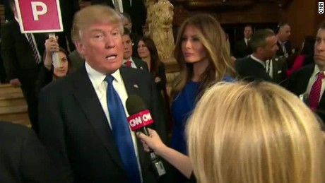 Donald Trump's entire Michigan debate interview