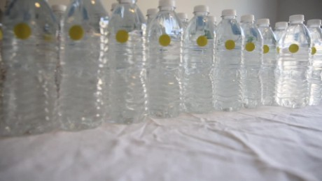 1 day in Flint, 151 bottles of water