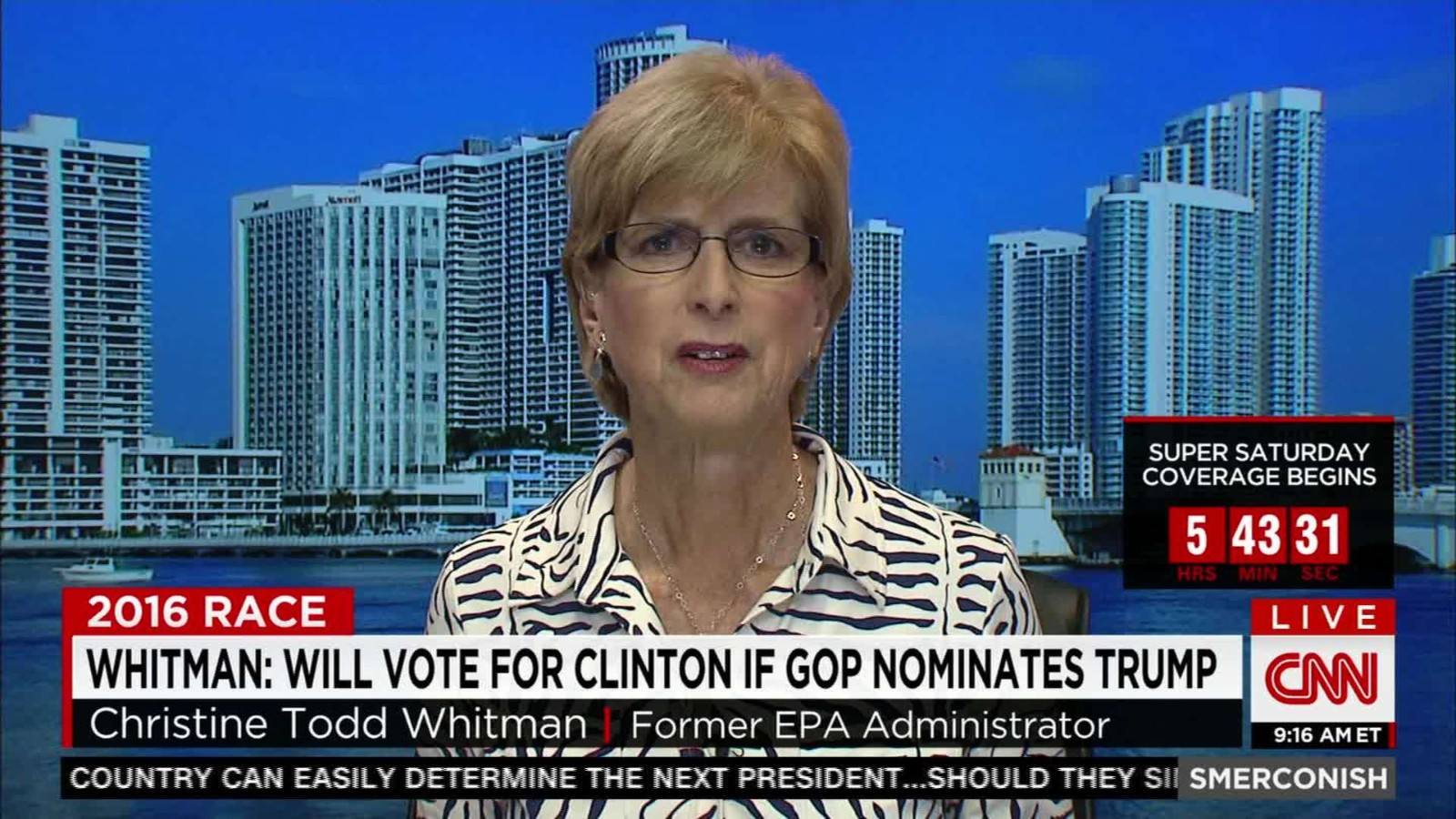 Image result for christine todd whitman hillary clinton
