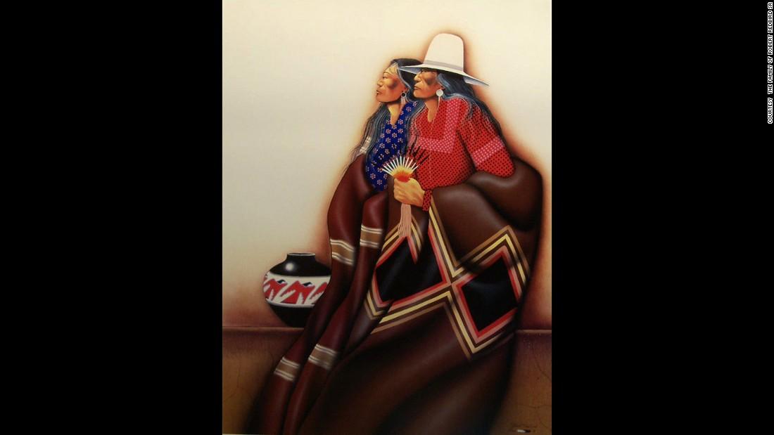 """Kiowa Couple"""