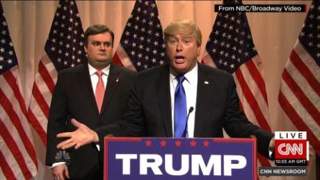 SNL' takes on Trump, Clinton - CNN Video