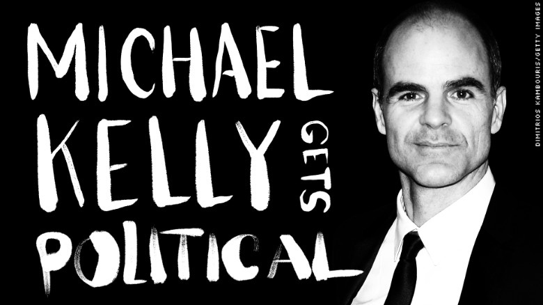 House of Cards star Michael Kelly (Doug Stamper) Gets Political