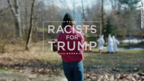SNL Donald Trump Parody Ad Racists For Trump Daily Hit Newday _00004813.jpg