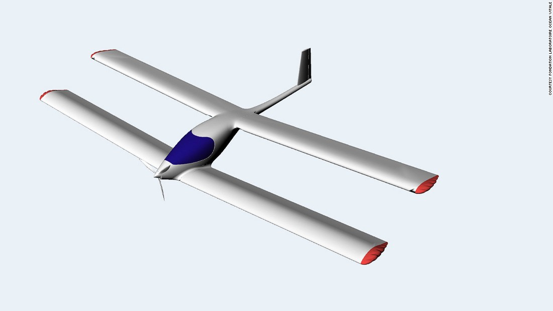 The Eraole is a solar and biofuel-powered light biplane aircraft that's been in the making since 2009.