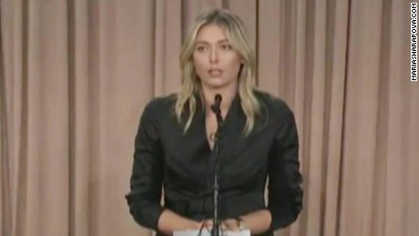 maria sharapova tennis fail drug test sot_00001403