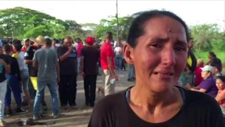 venezuela protests miners missing roth pkg_00004008