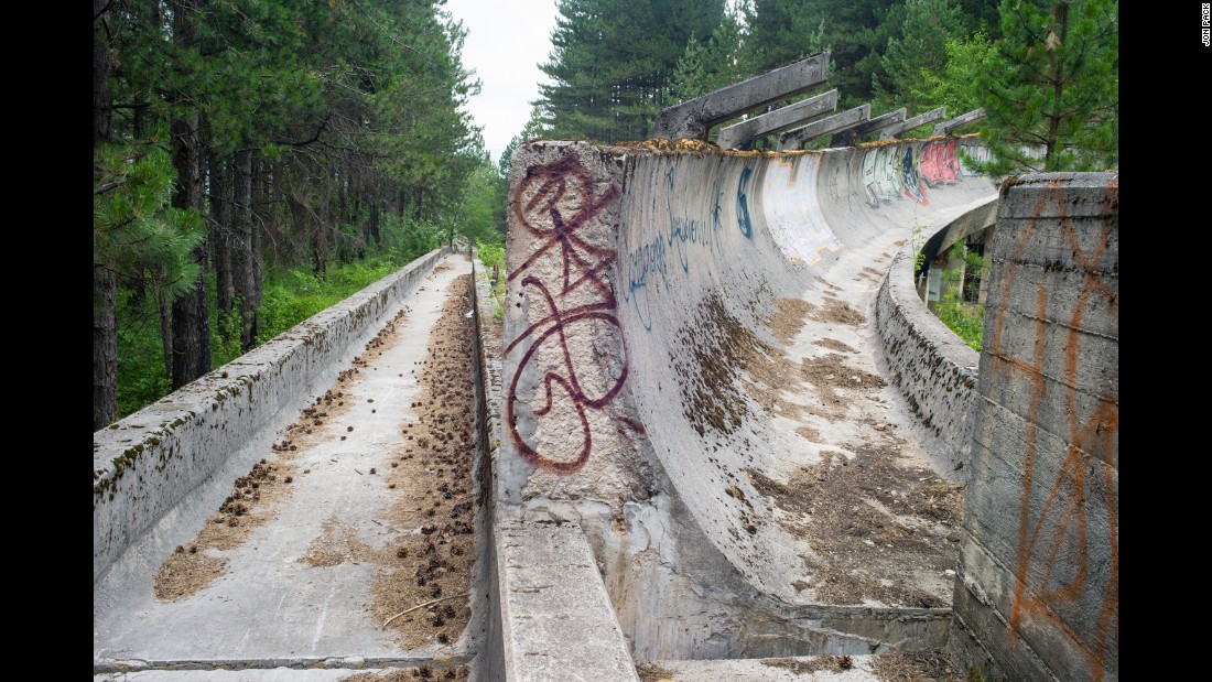 Olympic Bobsleigh and Luge Track, Sarajevo