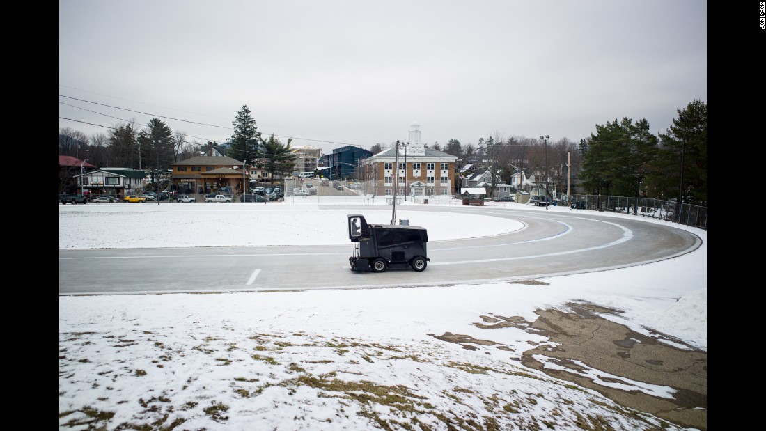 "James C. ""Bunny"" Sheffield Speed Skating Oval, Lake Placid"
