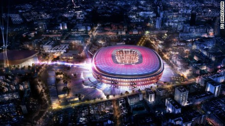 A new home for Messi