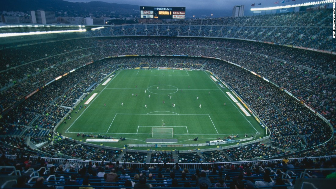 Mitjans worked on the original design with Josep Soteras Mauri and Lorenzo García Barbón.<br />The original stadium cost 288 million Spanish pesetas which left the club in debt for years after. Its current capacity is 99,354.