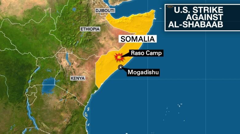 Somali Source US Attack Killed 2 HighLevel AlShabaab Figures