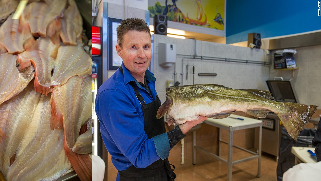 Located in the center of town, Narvik's Fiskehallen (Fish Market) is the place to witness the bountiful array of marine produce that comes from local Norwegian waters. An adjoining cafe offers a small menu of fishy snacks -- the fish cakes come highly recommended.