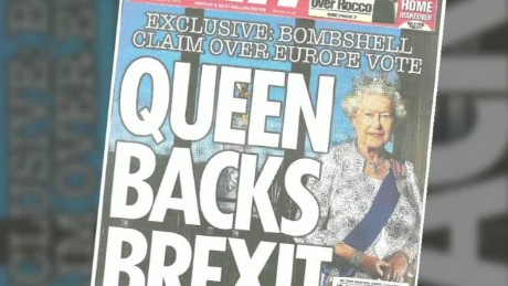 brexit queen tabloid lklv foster qmb_00000718