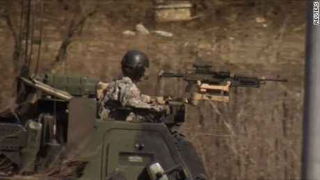 US, South Korea take part in joint military exercise
