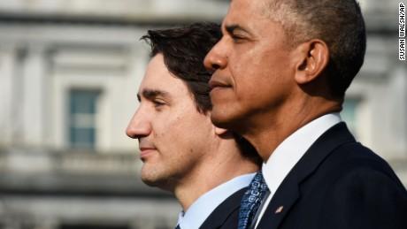 Canada's Justin Trudeau visits U.S.