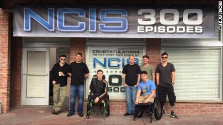 (Left to Right) Arthur Bloom, Nathan Kalwicki, Tim Donley, Will Cook, Josh Cawthorn, Marcus Dandrea, Johnathon Mullen
