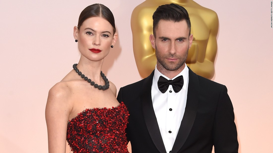 "Singer Adam Levine and model Behati Prinsloo are expecting their first child, according to <a href=""http://celebritybabies.people.com/2016/03/10/adam-levine-behati-prinsloo-pregnant-expecting-first-child/"" target=""_blank"">People magazine</a>. After the pair married in 2014, Levine exclaimed, ""I want to have 100 kids. I want to have more kids than is socially responsible."""
