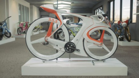 A one-of-a-kind Specialized concept bike
