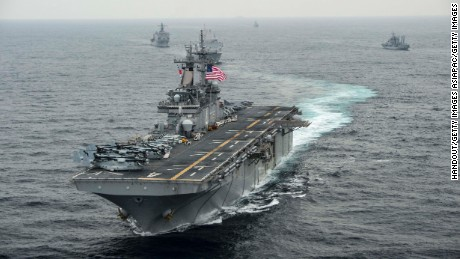 US Navy officer charged with espionage