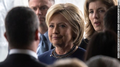 Clinton responds to Trump rally violence