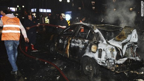 Blast in Turkish capital Ankara
