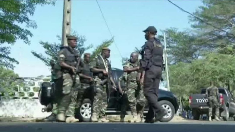 Gunmen attack beachfront hotels in Ivory Coast