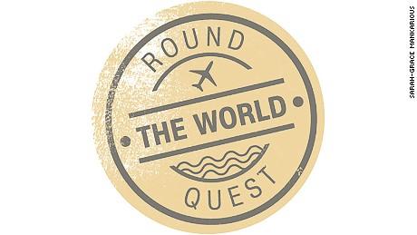 Round the World Quest logo