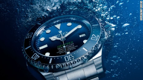 Rolex's Deepsea watches are tested in a tank that simulates pressure at 16,000ft below sea level before they are released onto the market.